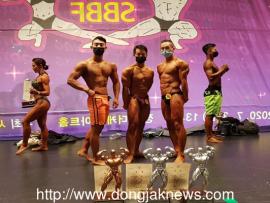 동작구민체육센터팀, 서울 보디빌딩 대회 입상