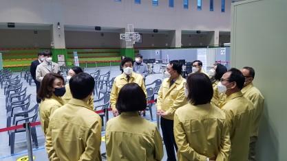 코로나예방접종 동작구의원 모의훈련