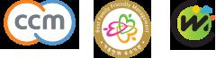 인증마크(3개)-CCM(공정거래위원회),날씨경영우수기업